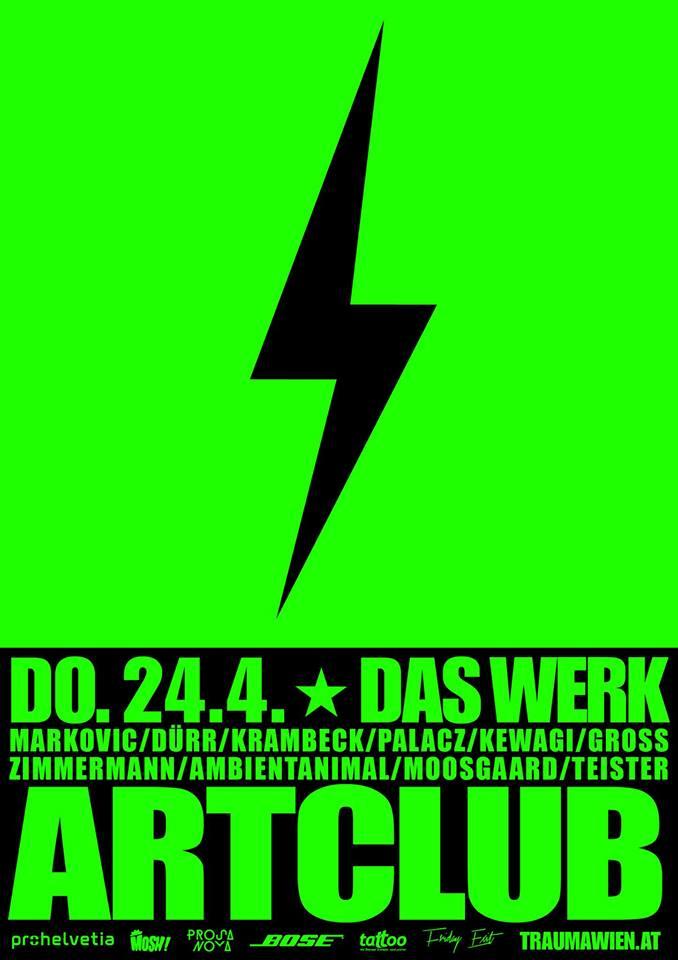 ARTCLUB RAVE LECTURE - 24.4.2014 - Das Werk - Vienna