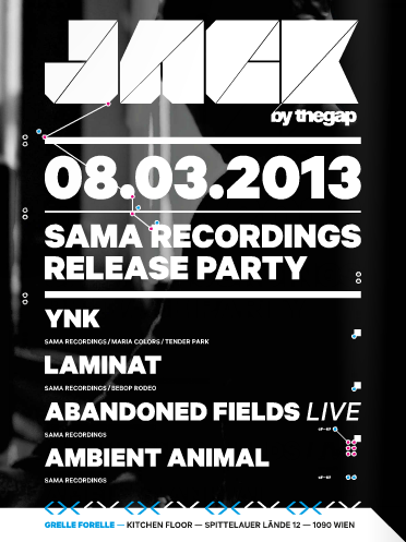 Jack by The Gap presents: SAMA RECORDINGS 001 RELEASE PARTY