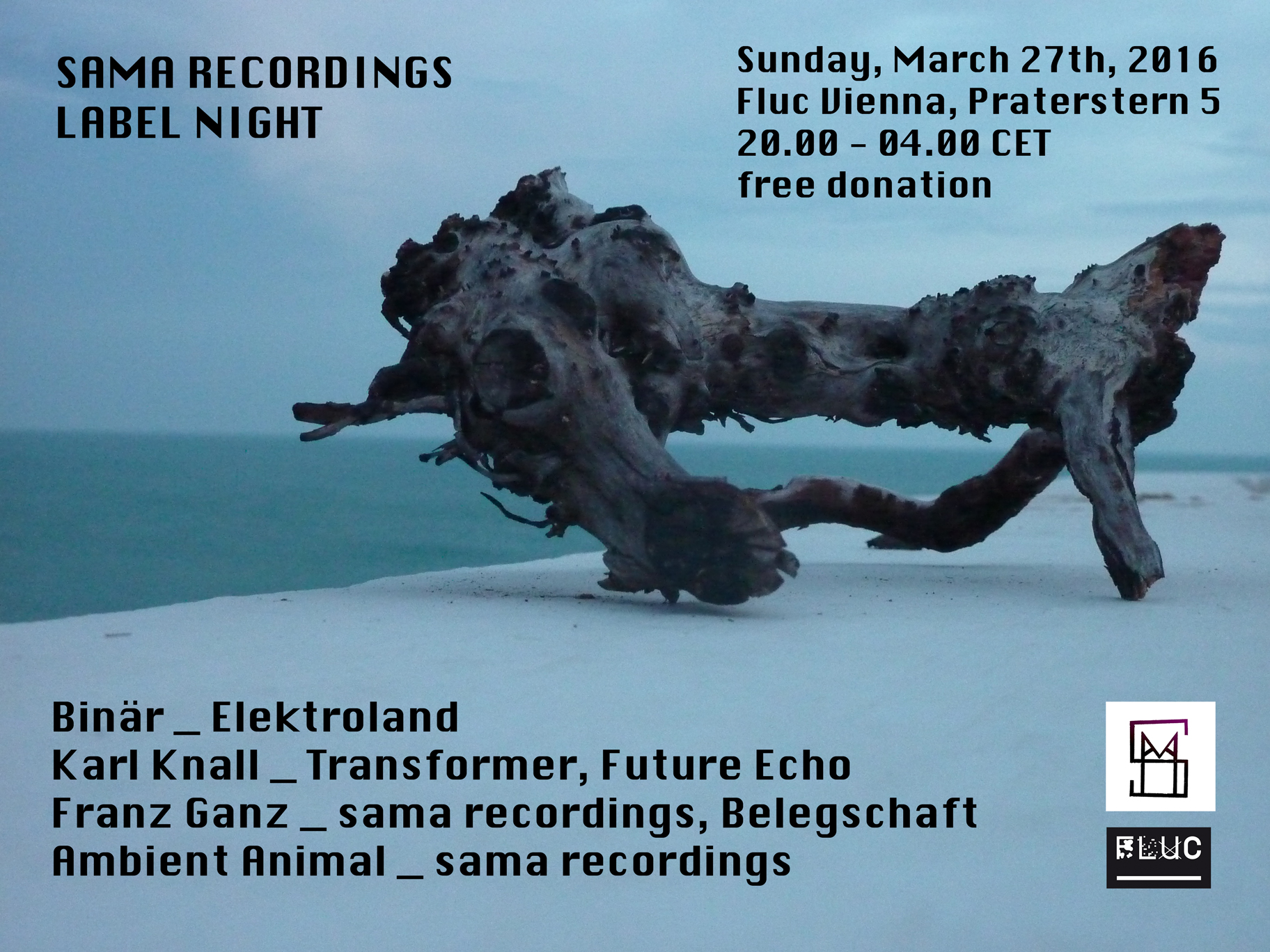 Sama Recordings Label Night - Vienna - March 27th, 2016